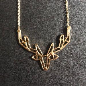 Deer Necklace
